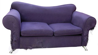 Now you don't have to be afraid to upgrade your couch!